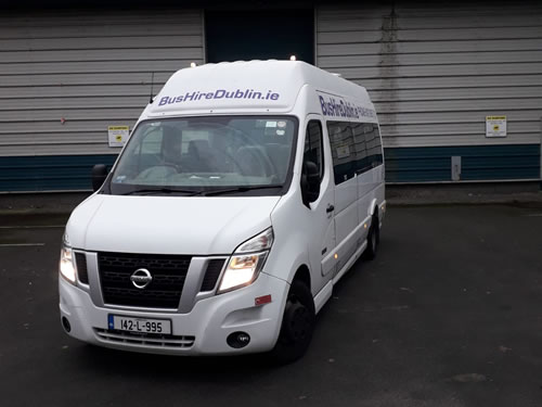 Bus Hire Dublin 17 Seater